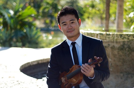 """The new concertmaster for the Richmond Symphony is Daisuke (pronounced """"dice-kay"""") Yamamoto."""