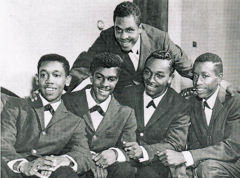 The original Jarmels in 1961 with Ray Smith at top. - COURTESY OF THE SMITH FAMILY