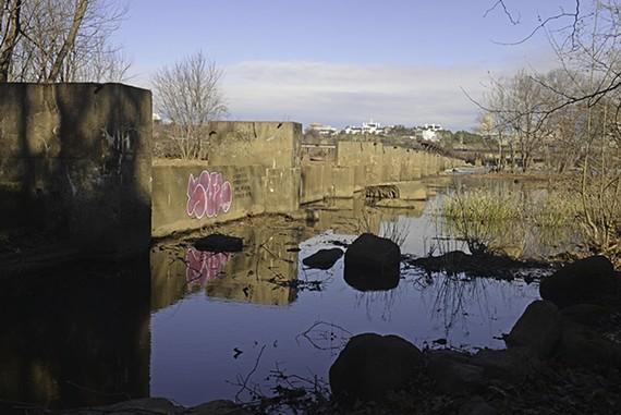 The planned Tyler Potterfield Dam Walk. - SCOTT ELMQUIST