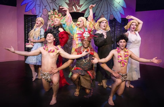 """The Richmond Triangle Players' latest, """"Howard Crabtree's Whoop-Dee-Do,' is visually engaging. - JOHN MACLELLAN"""