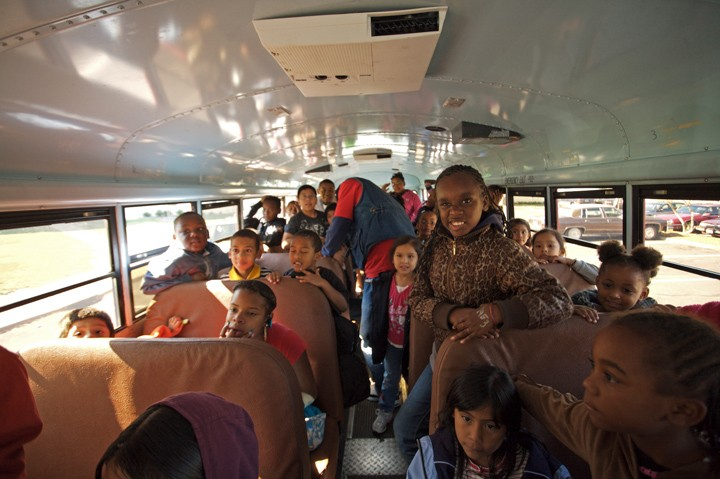 The ROCs bus ministry brings hundreds of area children to the church for services and after school programs.