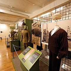 """The roles of Richmonders in World War I and World War II, both on the battle lines and at home, are illuminated through period dress, photographs, drawings and letters in """"I Am Well and War is Hell."""""""