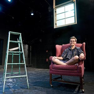 "The Shafer Alliance Laboratory Theatre allows VCU students to stage their own semiprofessional productions. ""We want to give directors as much freedom as they want,"" says the theater's Tommy Callan, pictured. ""Ultimately it's their show."" Photo by Ash Daniel."