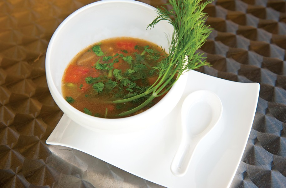 The tom yum soup at Miso Asian Grill misses the flavors that usually make this Thai dish sing. - SCOTT ELMQUIST