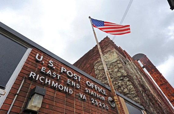 The U.S. Postal Service will hold a public meeting this month on the potential closure of its station at 25th and Marshall streets. - SCOTT ELMQUIST