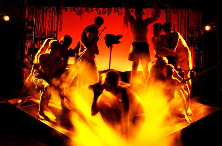 """The young cast of """"Lord of the Flies"""" is the play's greatest asset."""