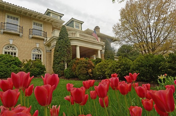 This Italianate house on Westover Road, built by James E. Crass (who introduced Coca-Cola to Richmond), will be on the Byrd Park and Maymont tour April 30.