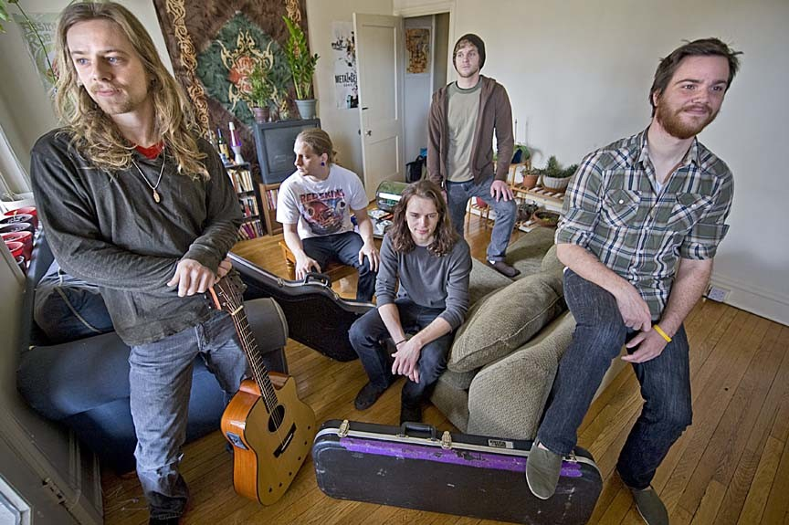 This Time It's War is, from left, Justin Lawson, John Gammon, Alan Simpson, Jeff Jennings and Scott Quigley. For an extended mix of this interview, go to StyleWeekly.com. - ASH DANIEL