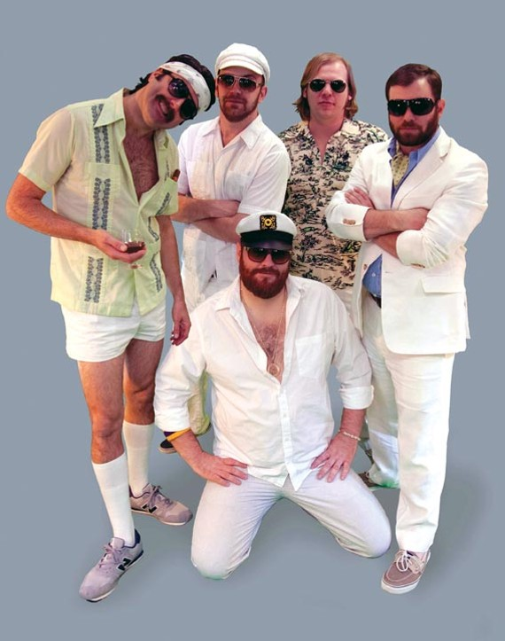 Three Sheets to the Wind is led by Capt. Max Power, front, center and mellow. - TRAVIS ELY