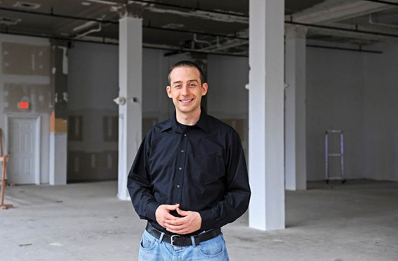 Tom Haas is a partner in 525 at the Berry-Burk, a new fine-dining project coming early next year to the historic downtown building. - SCOTT ELMQUIST