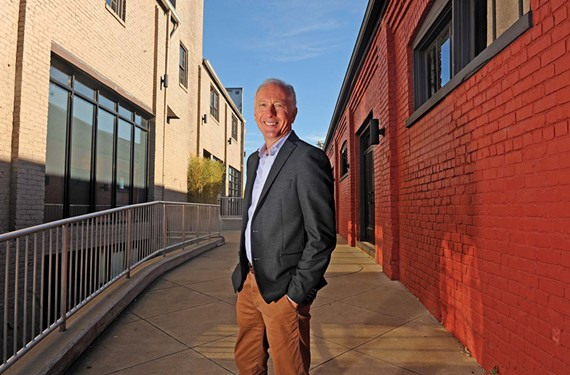 Tom Papa is one of 20 Richmond developers seeking to address concerns with the city, including changes in its tax abatement program. - SCOTT ELMQUIST