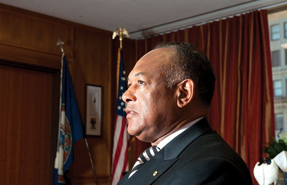 Two recent city contracts are raising questions about Mayor Dwight Jones' administration, which he often touts as disciplined and efficient. - SCOTT ELMQUIST/FILE