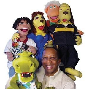 Ty-rone Travis used to perform adults-only comedy, but he's found his true calling entertaining children. Travis and his puppet sidekicks take it to the stage of the Funny Bone for a kid's show on Nov. 27.