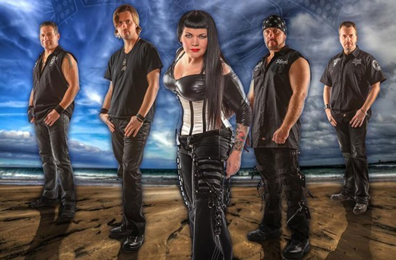 Singer Rosie Soul and her band were voted best local rock band in Style Weekly's annual Best Of poll for three years straight.
