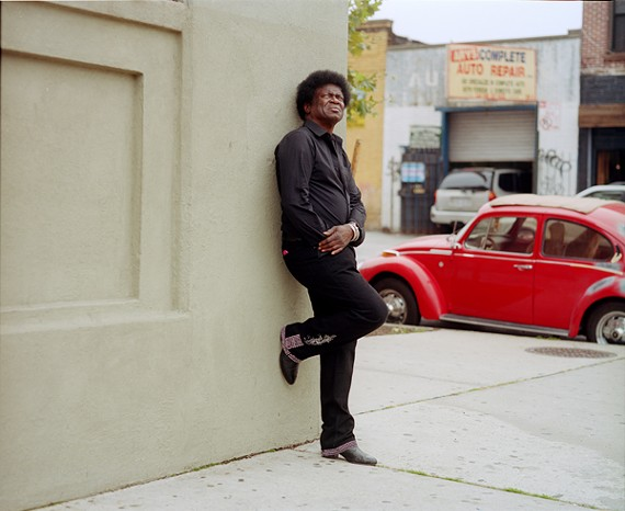Three cheers: Soulful crooner Charles Bradley is playing the Diamond this fall.