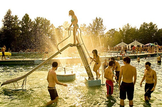 """Organizers of the former Best Friends Day event at Hadad's Lake (pictured here) are not happy that a new unassociated group is holding """"Super Happy Mega Best Friends Day"""" later this month."""