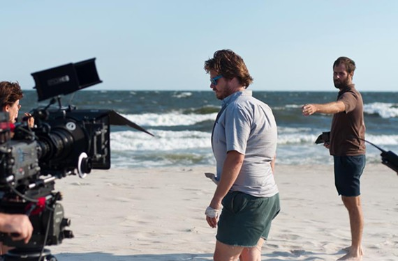 """On Rockaway Beach in Queens, New York, Rick Alverson directs actor Tim Heidecker during a scene in his 2012 film, """"The Comedy."""" With it, the Richmond director broke through to national audiences."""