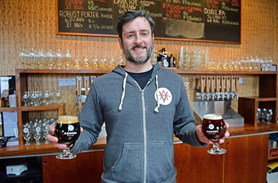 Ardent Craft Ales co-owner Kevin O'Leary. - SCOTT ELMQUIST