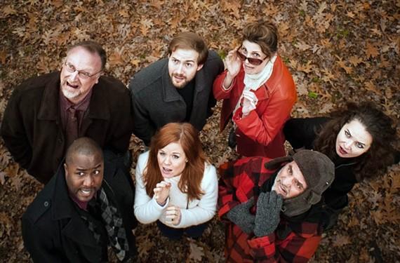 "The talented cast of Quill Theatre's ""Stupid Fucking Bird"" is filled with local award winners tackling a work which won the Helen Hayes Award for best new play in 2013."