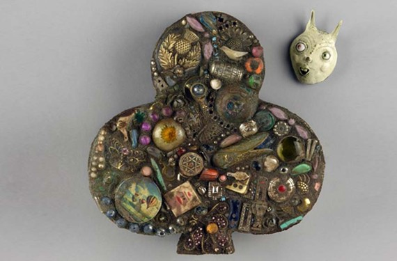Brooches by Kranitzky and Overstreet.