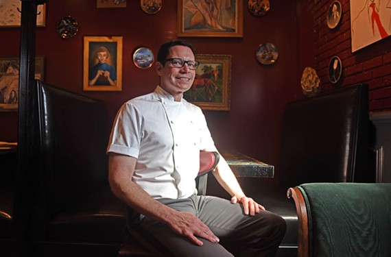 Chef and owner David Shannon is a nominee for the 2016 James Beard Awards' best chef Mid-Atlantic. - SCOTT ELMQUIST
