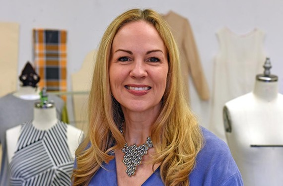 Former New Yorker Patricia Brown is the new chairwoman of the department of fashion design and merchandising at VCU. - SCOTT ELMQUIST