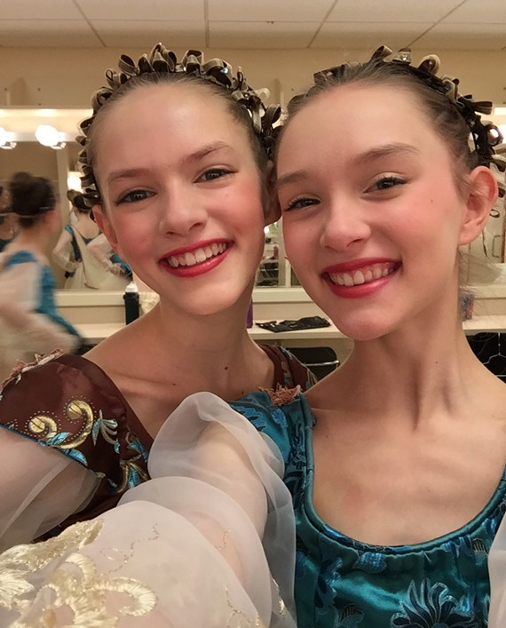 Young Richmond twins Isadora and Odessa Bless are raising money to accept a rare invitation to study at the Royal Ballet this July.