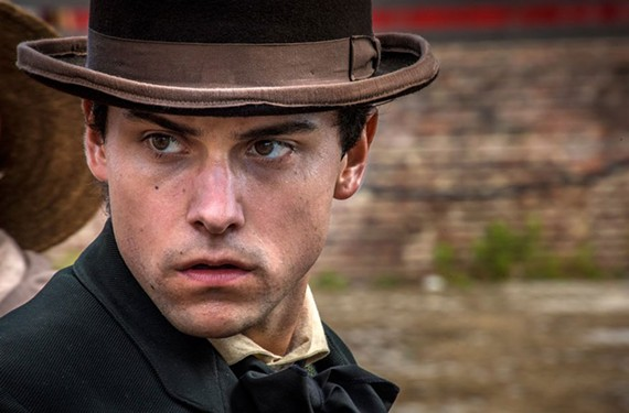 "Jack Falahee, who portrays Confederate spy Frank Stringfellow in the historic drama ""Mercy Street."""