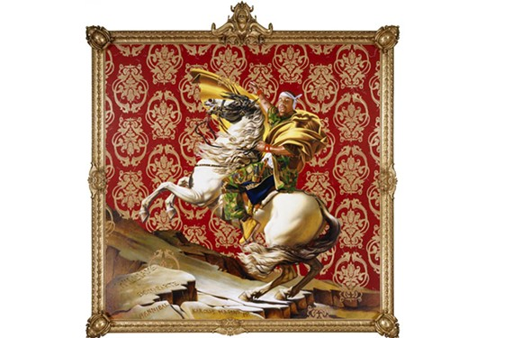 """DAY 48: """"Kehinde Wiley: a New Republic"""" at VMFA."""