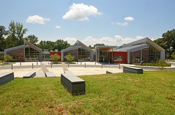 A view from the front of the Varina Library. - SCOTT ELMQUIST