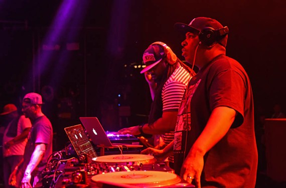 DJ Lonnie Battle has played local nightclubs, house parties and recreation centers for more than two decades. Lonnie B. also has a radio show on iPower 92.1 and serves as a member of Heavy Hitters, a national group of tastemakers that includes Kanye West. - SCOTT ELMQUIST