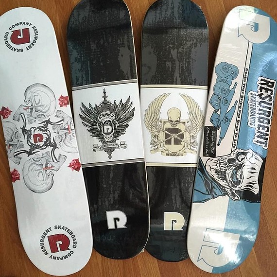RESURGENT SKATEBOARDS