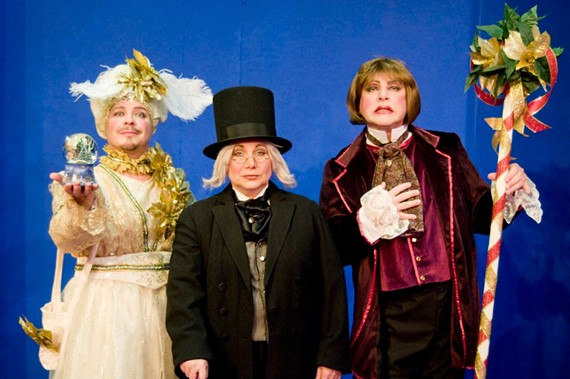 Richmond Triangle Players ushers in the holiday season with a wacky take on the Dickens story. Runs through Dec. 17.