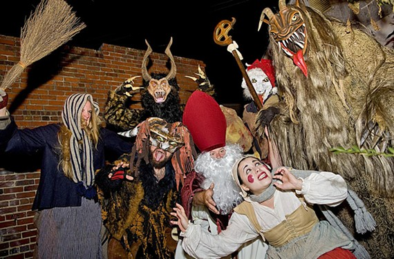 The fourth annual RVA Krampusnacht, Dec. 3.