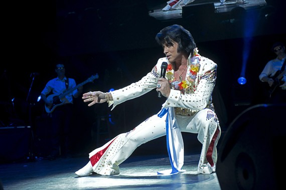 The ultimate Elvis tribute show is coming to Carpenter Theatre on March 7.