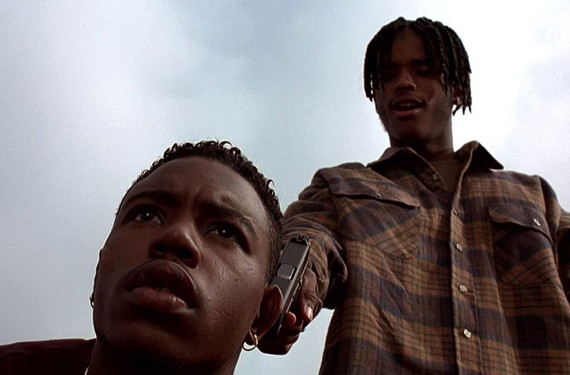 """""""Menace II Society"""" (1993), directed by Allen and Albert Hughes. - NEW LINE CINEMA"""