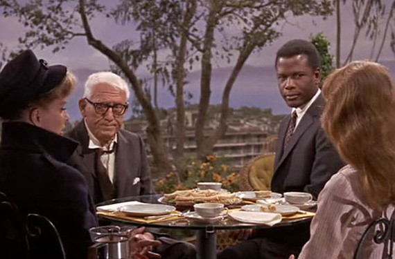 """""""Guess Who's Coming to Dinner"""" (1967), directed by Stanley Kramer. - COLOMBIA PICTURES"""