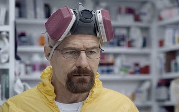 "Bryan Cranston, pictured here as Walter White from ""Breaking Bad,"" will be speaking at John Paul Jones Arena in March."