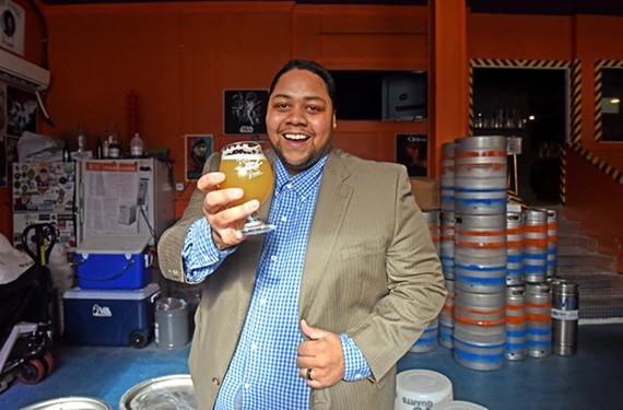 Bobby Faithful is the front of the house manager at the Answer Brewpub, owned by An Bui of Mekong Restaurant. - SCOTT ELMQUIST