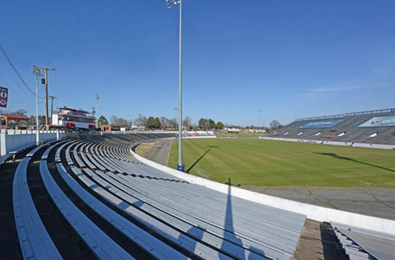CBS-6 will air 17 of the season's games, most of them played at the 1929 City Stadium. In signing a 40-year lease with the city, the Kickers committed to making $20 million in upgrades to the space. - SCOTT ELMQUIST