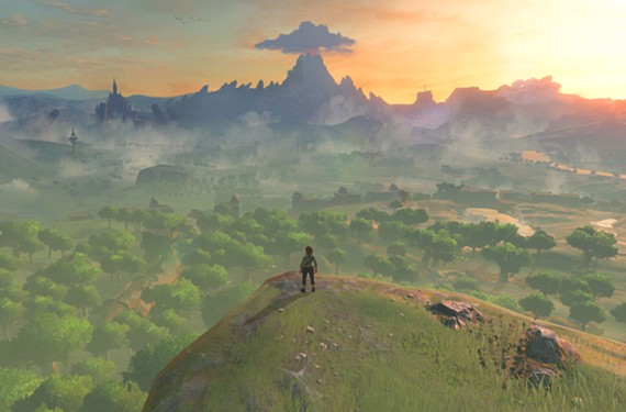 The land of Hyrule is vast and full of secrets. - NINTENDO