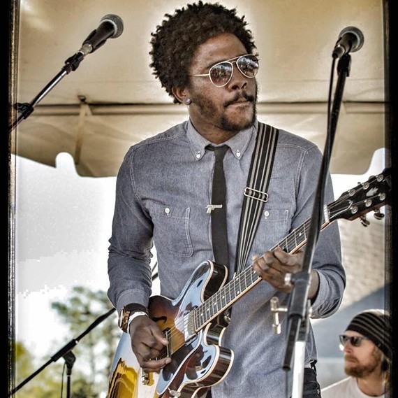 Guitarist DJ Williams is well known among the jamband community in Richmond. He now lives in Los Angeles.