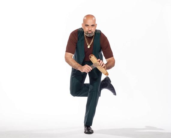 "Smooth tenor singer Rei Alvarez (Bio Ritmo, Miramar) has a new song, ""Conquista y Poder"" on the soundtrack to the Netflix original movie, ""Small Crimes,"" due out June 9."