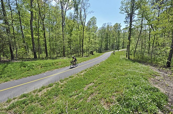 Bike the 52 mile Capital Trail. - ASH DANIEL