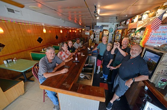 The Rose Marie Inn's regulars keep coming back for the bar's timeless ambiance. - SCOTT ELMQUIST