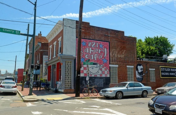821 Café, where Willie Black gets his coffee. - SCOTT ELMQUIST
