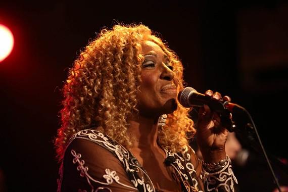 Virginia native and longtime James Brown singer, Martha High.