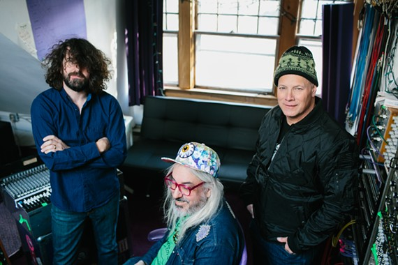 Legends of alt. rock: bassist Lou Barlow, guitarist and vocalist J. Mascis and drummer Murph of Dinosaur Jr.