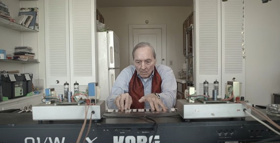 Acclaimed photographer William Eggleston has a new instrumental album made using an 88-key Korg synthesizer.