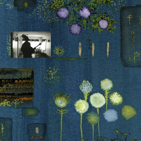 "John Lurie's cover art for the new Marvin Pontiac album, ""The Asylum Years."" As the website reads, Pontiac was anonymously sent a 4-track tape recorder during the years he was held at Esmerelda State Mental Institution."